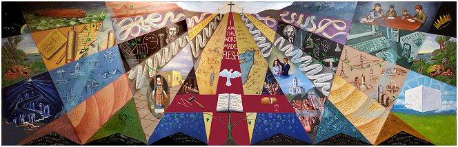 Art & the Bible                                             Mural