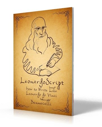Leonardoscript, How to Write Like