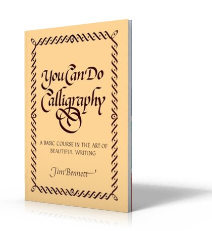 You Can Do Calligraphy by Jim